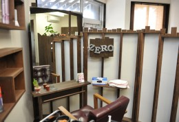 studio ZERO.の美容室内紹介カットルーム2